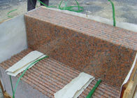 Red Straight Granite Step Treads For Indoor Outdoor Step Finish Optional