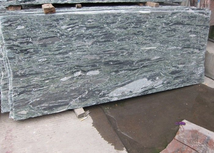 Blue Wave Marble Slab Stone , Popular Polished Surface Marble Tile Slab